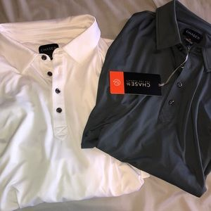 CHASE 54 PERFORMACE Polos (2) XL NWT retail $124